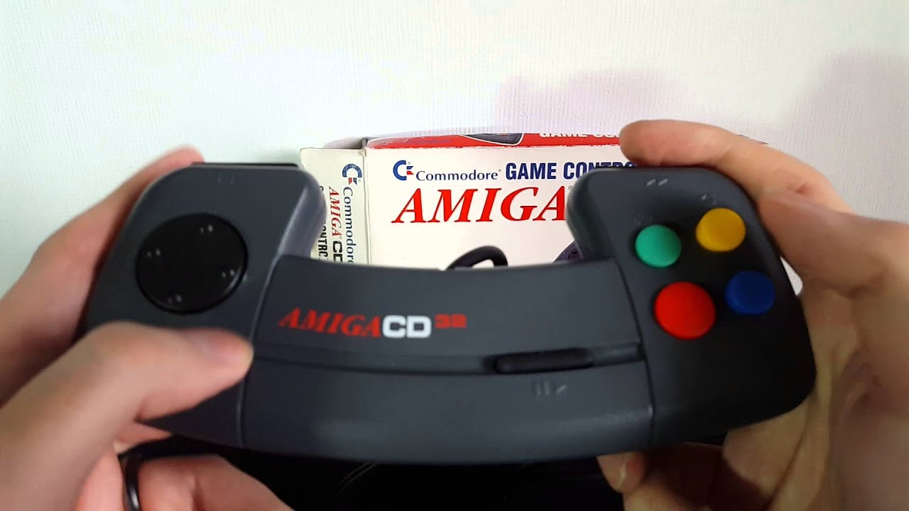 Commodore Amiga CD 32 Game Controller Overview