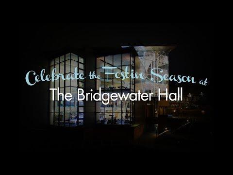 The Bridgewater Hall at Christmas
