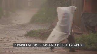 Marsabit man in 'raincoat'