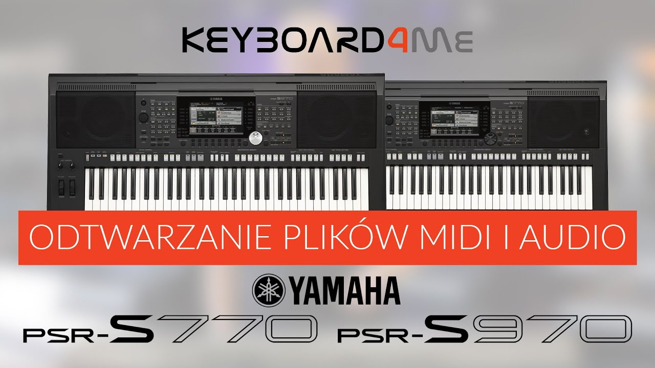 yamaha psr s770 psr s970 odtwarzanie midi audio. Black Bedroom Furniture Sets. Home Design Ideas