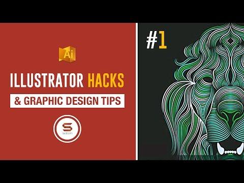 Adobe Illustrator Tips - 8 ADOBE ILLUSTRATOR GRAPHIC DESIGN TIPS AND HACKS