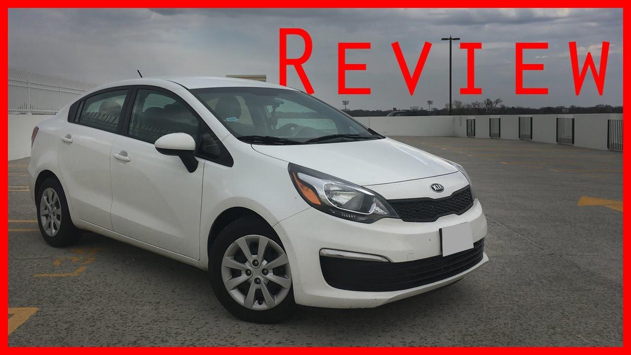 2016 Kia Rio Lx Review