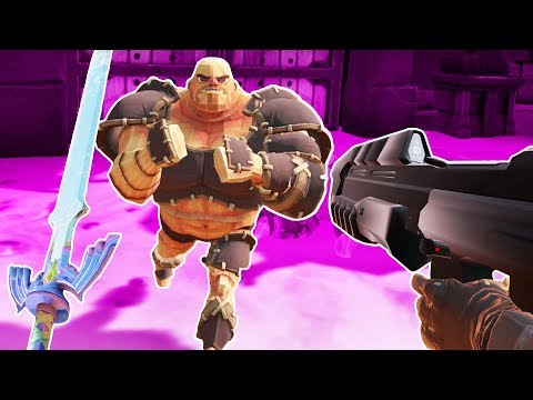 Halo Rifle and Master Sword vs Gladiators! - Gorn Gameplay - VR HTC Vive