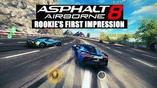 Asphalt 8 Airborne Online Multiplayer Game Mode Rookie's first impression