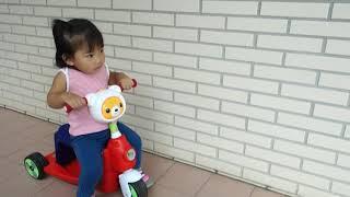 Creative Baby創寶貝國民版多功能滑板車/嚕嚕車(紅色)