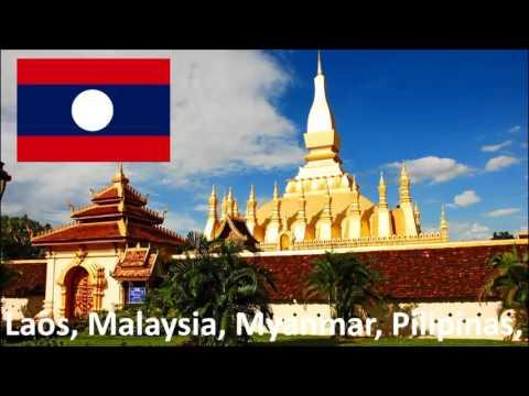 Mga Bansa Sa Asya | Doovi
