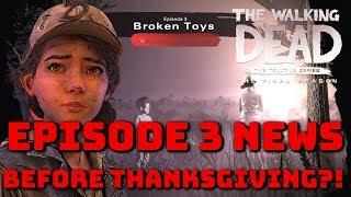 """The Walking Dead:Season 4 Episode 3 """"Broken Toys"""" News Update - The Final Season"""
