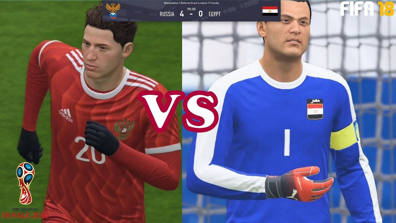 FIFA 18 new walkthrough gameplay 9 -Russia vs Egypt-FIFA World Cup Russia  2018 prediction ccf08523a