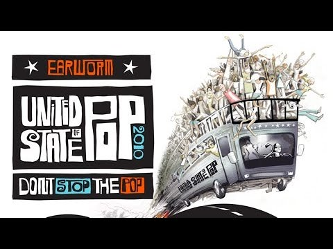 DJ Earworm - United State of Pop 2010 (Don't Stop the Pop) - Mashup of Top 25 Billboard Hits