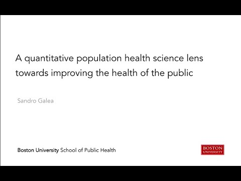 2017 Alexander D. Langmuir Lecture for 66th annual Epidemic Intelligence Service Conference