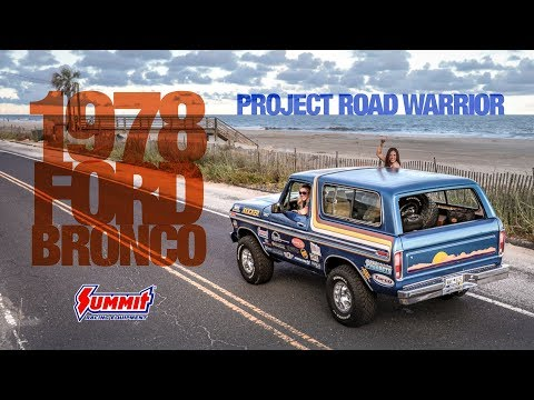 Courtney Barber's 1978 Ford Bronco - Project Road Warrior