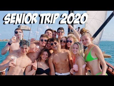 SENIOR TRIP GONE WILD (spring Break Vlog)