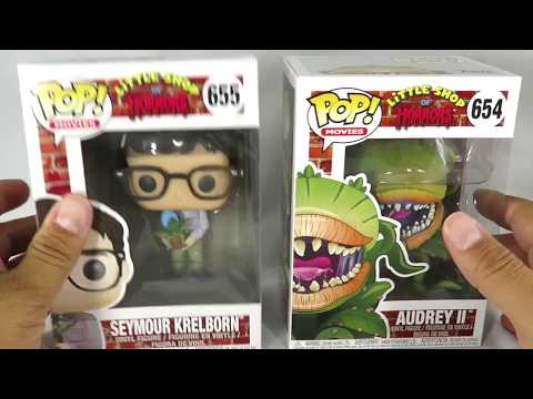 Funko POP Little Shop of Horrors Seymour and Audrey 2 review