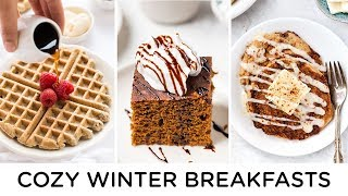 EASY HOLIDAY BREAKFAST RECIPES ‣‣ cozy winter breakfast ideas!