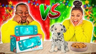 Download CHEAP VS EXPENSIVE CHRISTMAS PRESENTS CHALLENGE 🎁 Mp3 and Videos