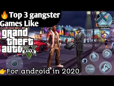 🔥 Top 3 Gangster Games Like GTA 5 In 2020   Under 200 Mb. For Android. In Hindi   