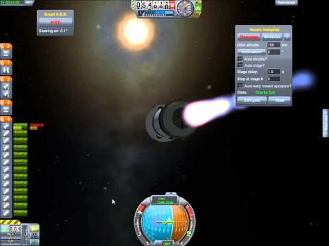 Kerbal Space Program - #005 Parte 1 - Llendo a Minmus + varios dockings