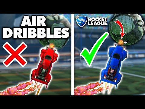 The CORRECT Way to AIR DRIBBLE in Rocket League (How to Air Dribble Tutorial)