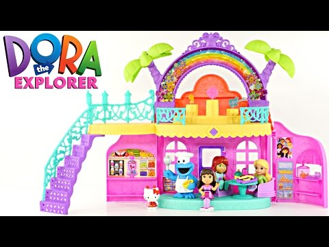 Thumbnail: Dora and Friends Café Nickelodeon Music & Songs Cookie Monster Play Doh Bakery Hello Kitty Treats