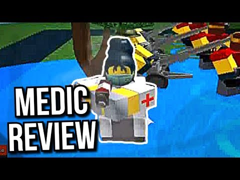 MEDIC REVIEW - Tower Defense Simulator [Roblox]