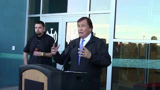 IAIA Dedication Ceremony Performing Arts & Fitness Center | Intro Sheila Rocha Champion Billy Mills