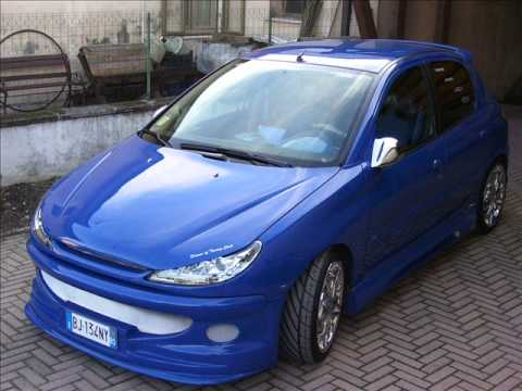 peugeot 206 tuning story youtube. Black Bedroom Furniture Sets. Home Design Ideas
