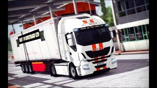 #2 ДОРОГА ДУРАКОВ  - Euro Truck Simulator 2 Multiplayer -слушаем музыку для YouTube Релаксируем вмес