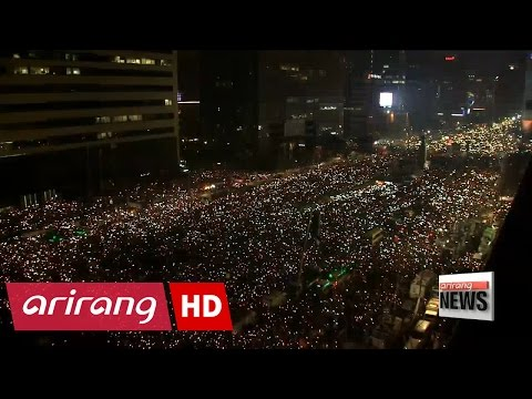 Fifth mass protest held in Seoul to call on President Park to resign