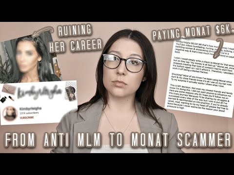 FROM ANTI MLM TO MONAT SCAMMER: We need to talk #ANTIMLM