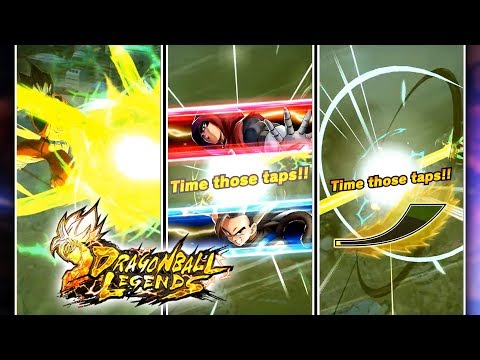 EPIC DRAGON BALL LEGENDS BEAM STRUGGLE ANIMATION! DB Legends