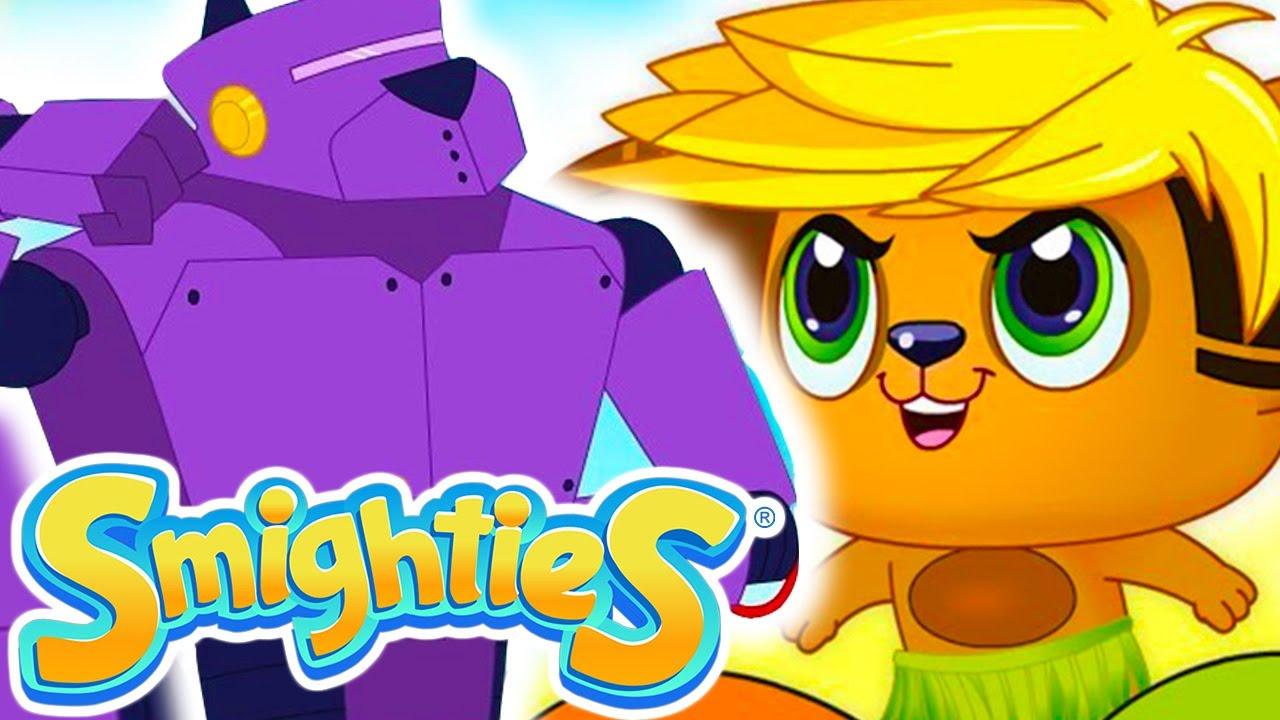 Smighties - Robot Battle Superpowers Cartoons For Children | Funny Cartoon Video | Cartoons for Kids