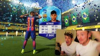 FIFA 17 - TOTGS NEYMAR IN A PACK PRANK!!! 😱