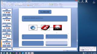 Using Microsoft Powerpoint to Create a Millionaire Game Show Part2