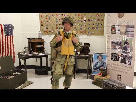D-Day Paratrooper Uniform