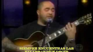 Aaron Lewis (Staind) - Right Here (subtitulos español)