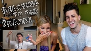 OLD PRANKS CHALLENGE! TEAM JESSE thumbnail