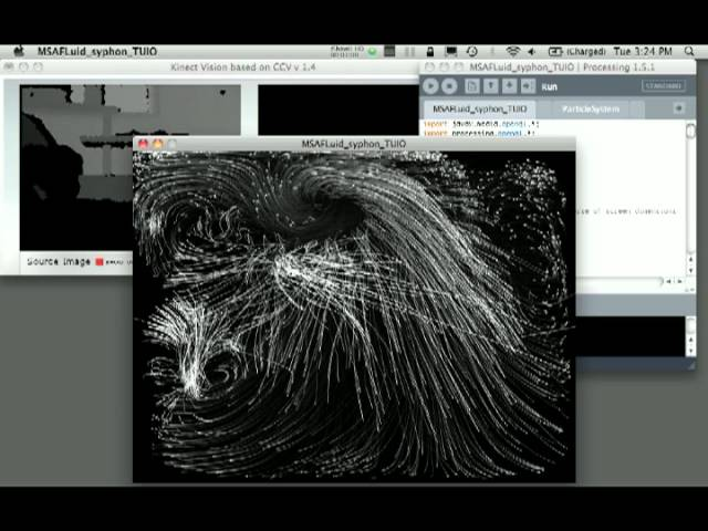 KINECT TO PROCESSING SYPHON TO VDMX - VidInfo