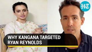 Kangana Ranaut vs Ryan Reynolds over 'Hollywood mimicking Bollywood' joke in 'Free Guy' promo