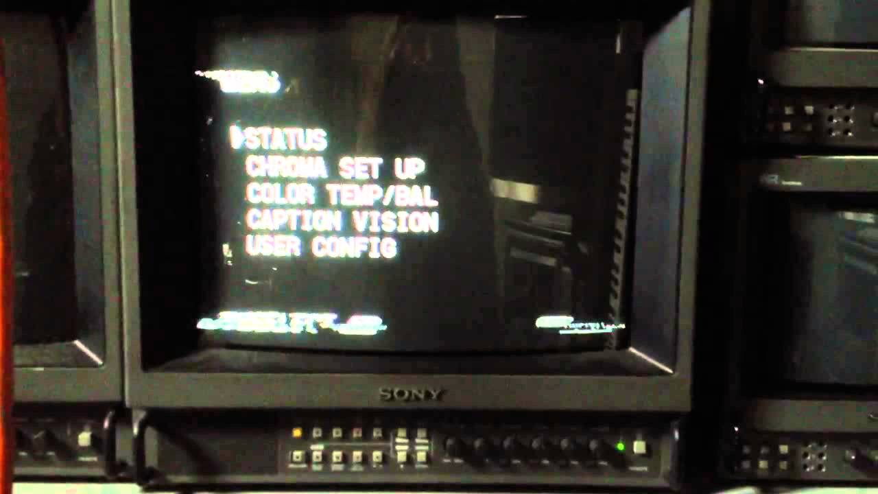 Sony PVM pickup by fthetm