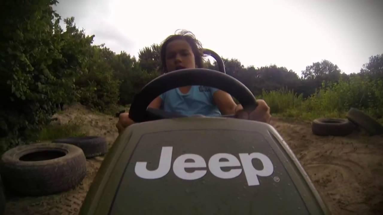 Веломобиль BERG Jeep Junior
