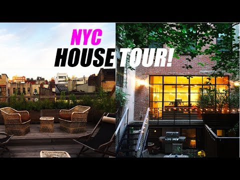 NYC HOUSE TOUR! w/Marc Jacobs Beauty! #castmemarc