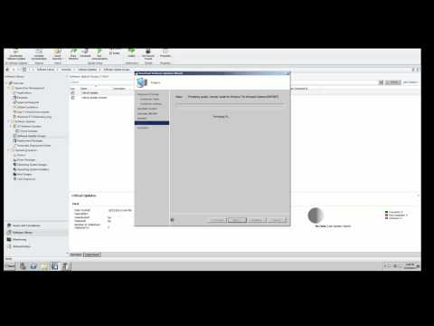Deploying Windows Software Updates SCCM 2012