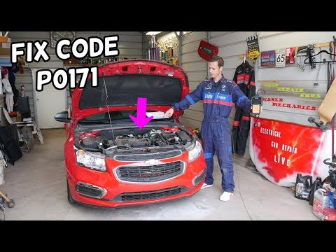 FIX CODE P0171 CHEVROLET CRUZE CHEVY SONIC SYSTEM TOO LEAN