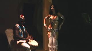ДАЙ БИТ! LINDA SHOW импровизация под живые барабаны // Восток танец