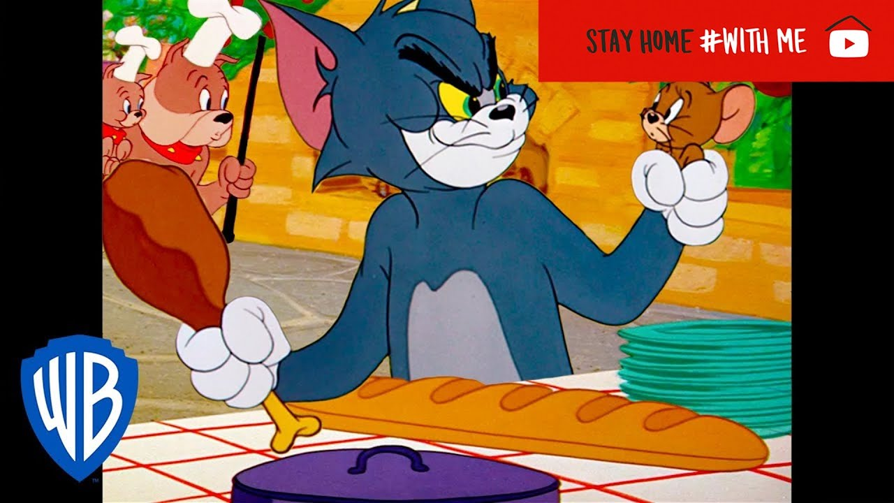 Tom & Jerry | Food, Glorious Food! | Classic Cartoon Compilation | WB Kids