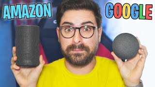 AMAZON ALEXA VS GOOGLE ASSISTANT!