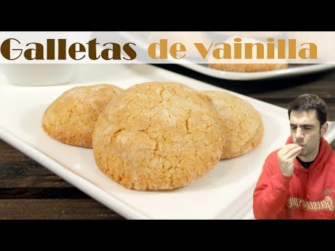 Galletas de vainilla. Receta rápida fácil y deliciosa!
