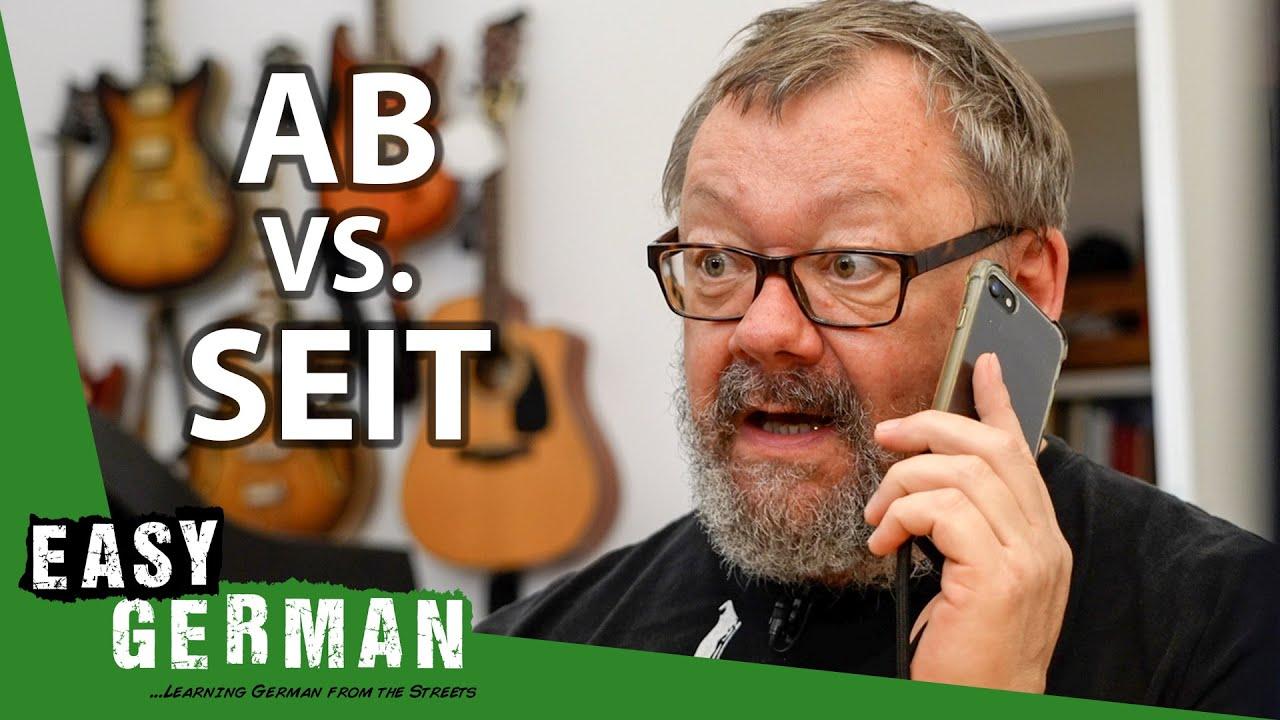 Download Ab vs. Seit   Super Easy German 176