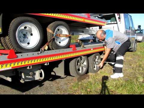 Fitzel SPEEDER odtahová hliníková nástavba - vymena zadni pneu C