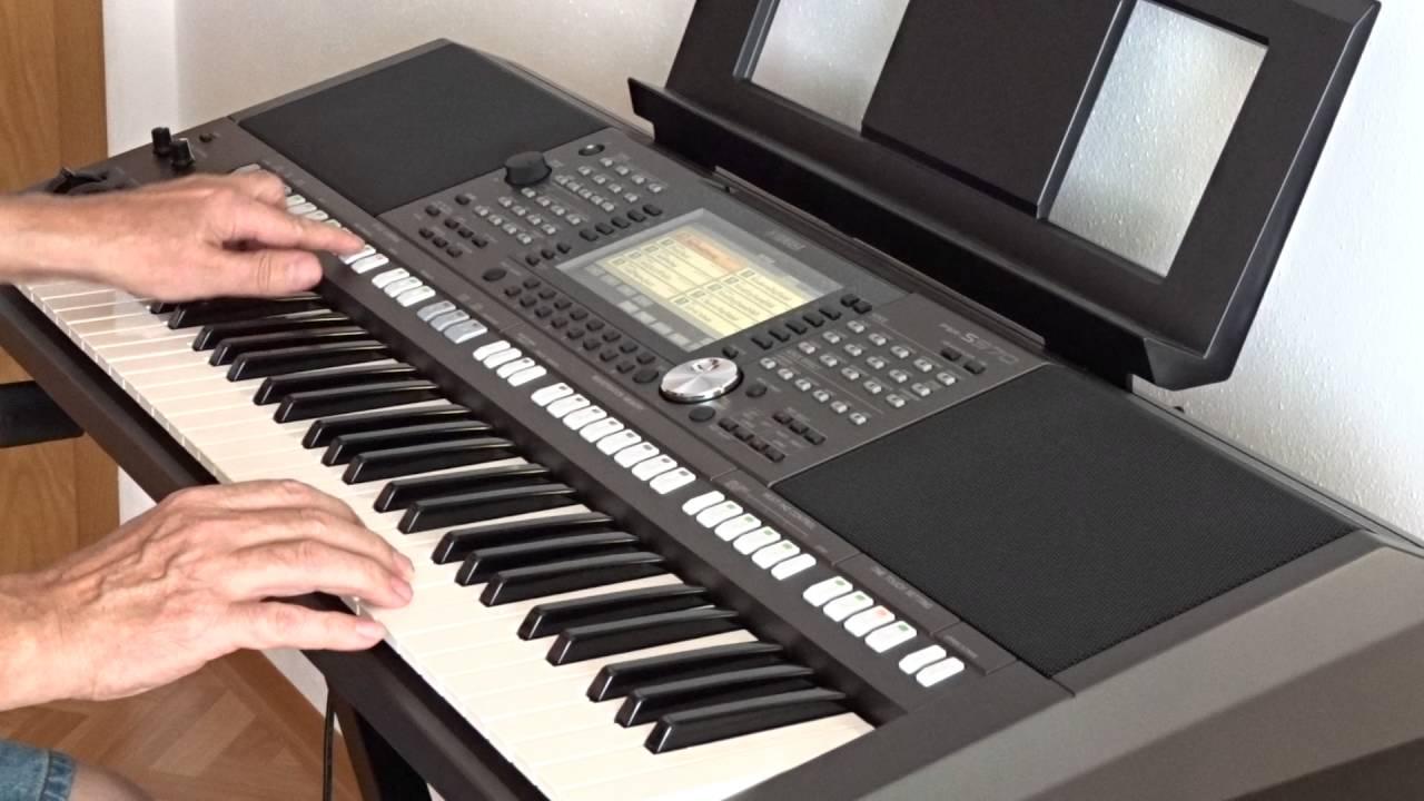 yamaha psr s970 keyboard bigband style spanisch eis youtube. Black Bedroom Furniture Sets. Home Design Ideas
